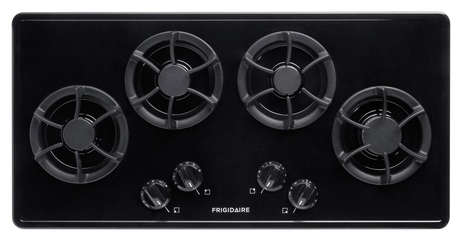"""Gas Cooktop 36"""" Built-In Gas Cooktop by Frigidaire at Fisher Home Furnishings"""