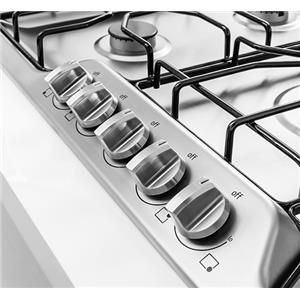 "36"" Gas Cooktop with Angled Front Controls"