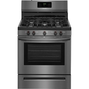 """30"""" Gas Range with Quick Boil"""