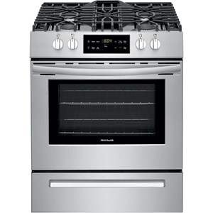 "30"" Front Control Gas Range"