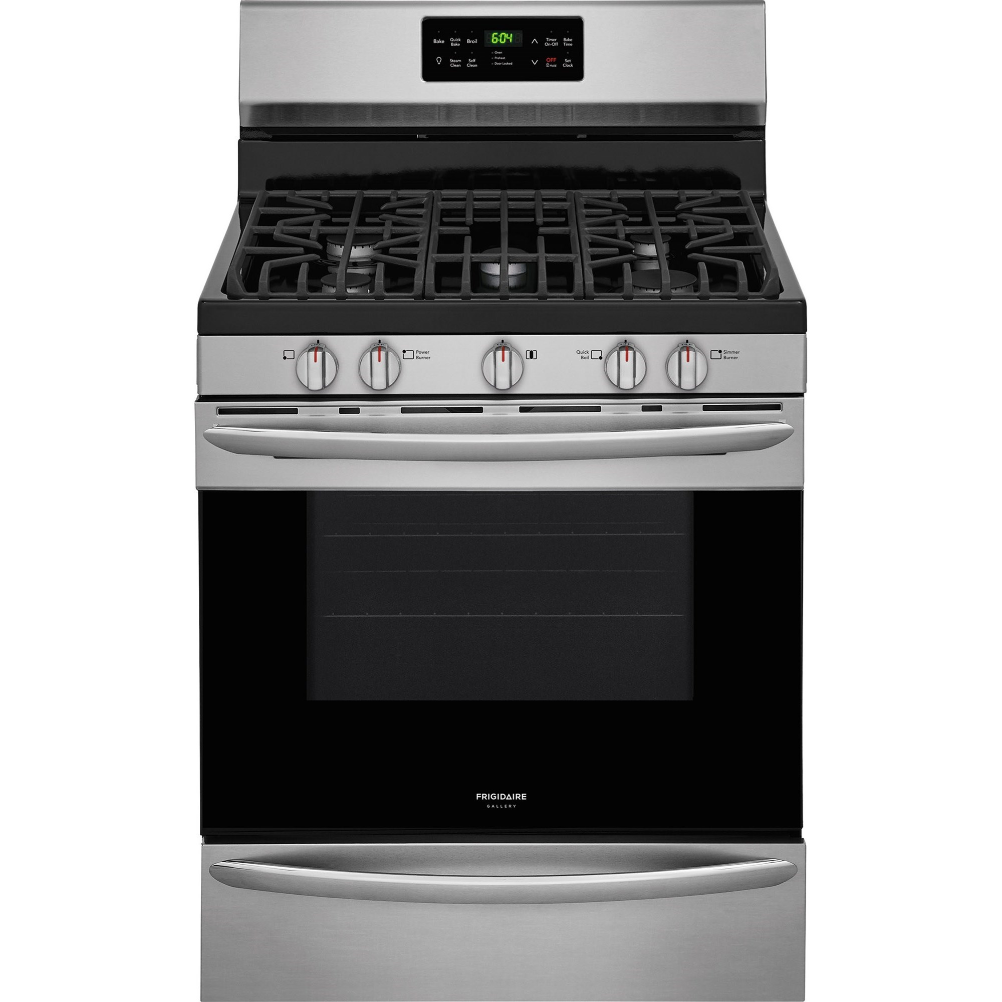 "Gas Range 30"" Gas Range by Frigidaire at VanDrie Home Furnishings"