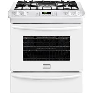 """Gallery Premier 30"""" Slide-In Gas Range with Convection Oven"""