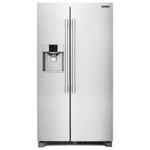 Frigidaire Professional - Side-by-Side Refrigerators 22.6 Cu.Ft Counter-Depth Side-by-Side Fridge