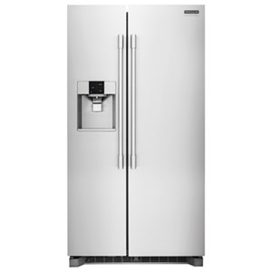 Frigidaire Professional - Side-by-Side Refrigerators 26 Cu. Ft. Side-by-Side Refrigerator