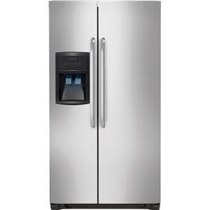 Frigidaire Side-By-Side Refrigerators 26 Cu. Ft. Side-by-Side Refrigerator