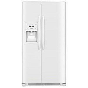 Frigidaire Side-By-Side Refrigerators 22.2 CuFt. Counter-Depth Side-by-Side Fridge