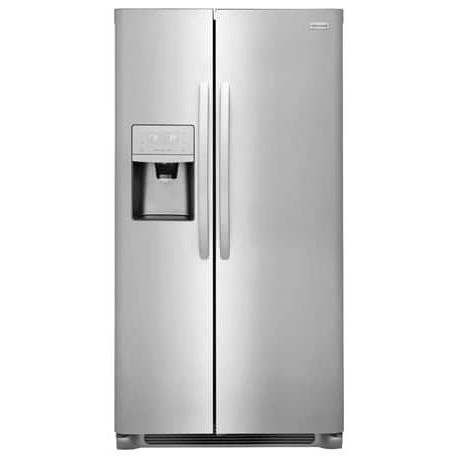 Side-By-Side Refrigerators 22.0 Cu.Ft. Counter-Depth Side-x-Side Fridge by Frigidaire at Fisher Home Furnishings