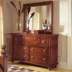 Furniture Brands, Inc. B3022 Dresser and Mirror Combo