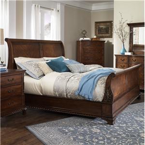 Furniture Brands, Inc. Chestnut Hill Queen Sleigh Bed