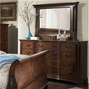 Furniture Brands, Inc. Chestnut Hill Dresser & Mirror Set