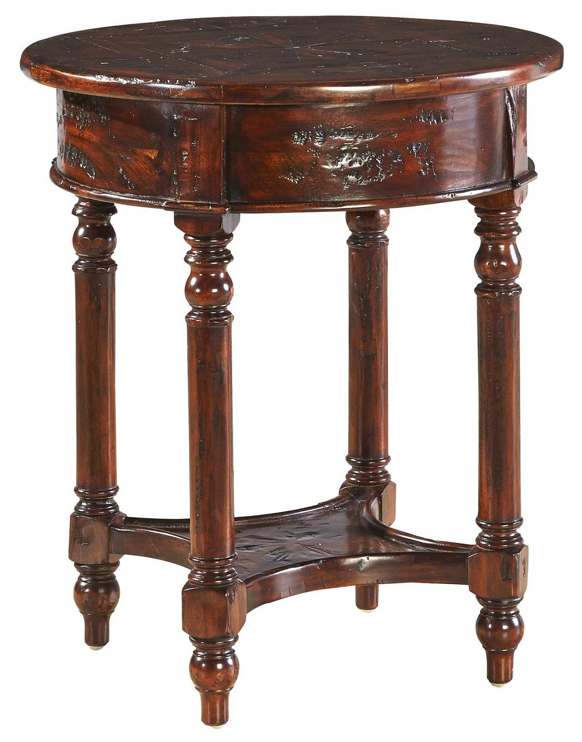 Accents Old Fashioned Martini Table by Furniture Classics at Alison Craig Home Furnishings