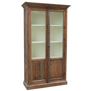 Single Willoughby Cabinet with 2 Doors and 3 Shelves