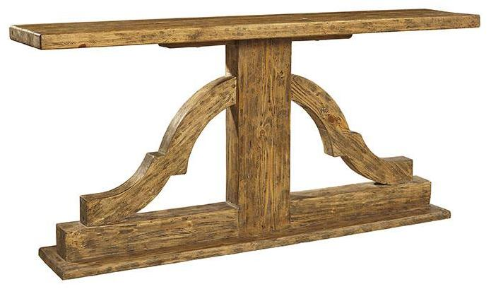 Accents Bracket Console by Furniture Classics at Alison Craig Home Furnishings