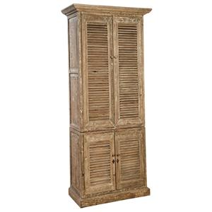 Rustic Reclaimed Wood Hilton Linen Cabinet