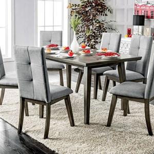 Mid Century Modern Rectangular Dining Table