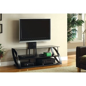 "54"" Glass Top TV Console"