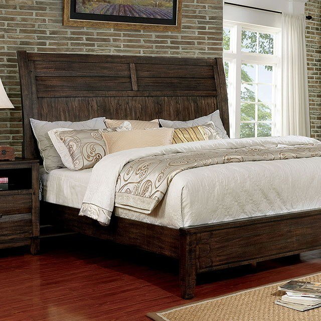Agapetos Queen Bed by Furniture of America at Dream Home Interiors