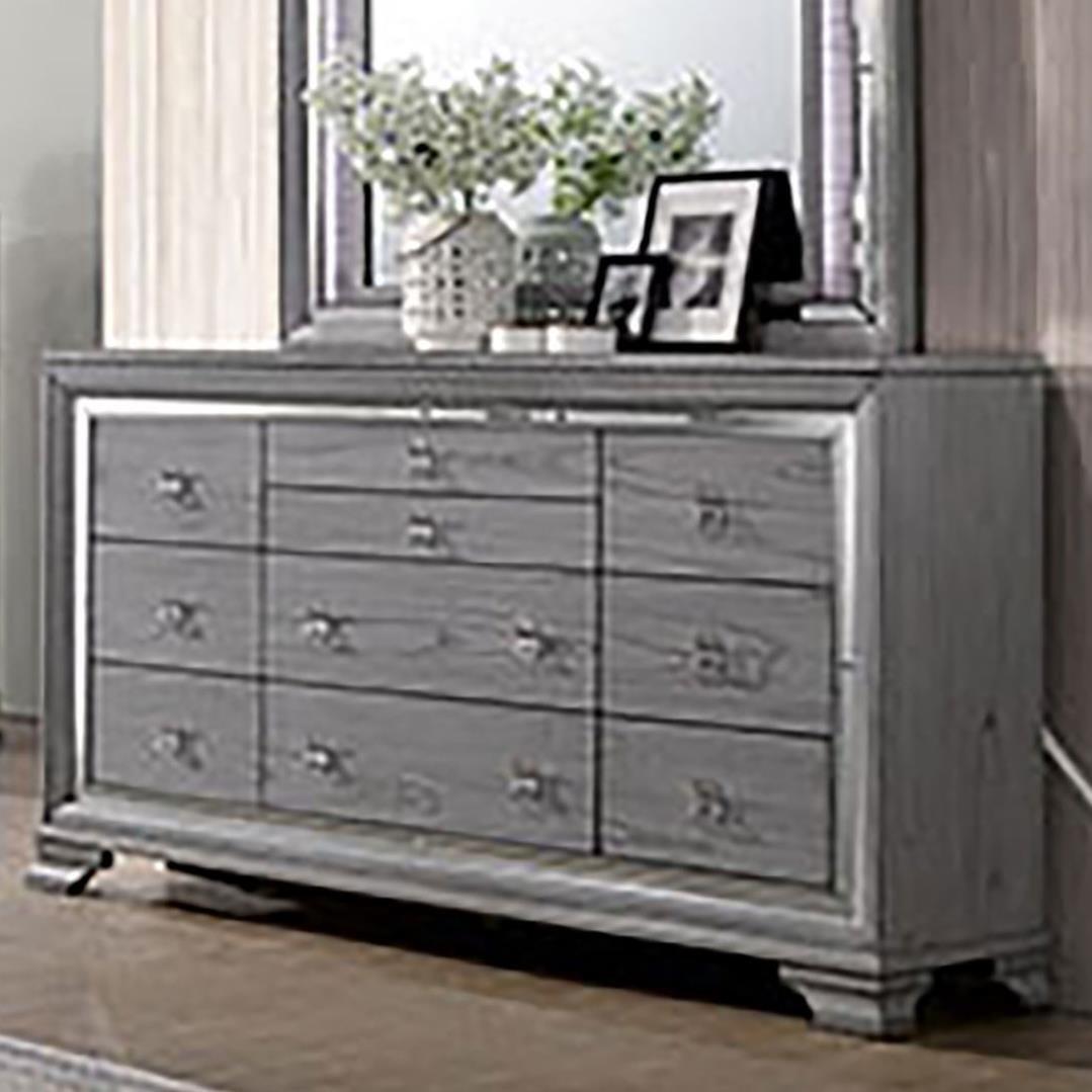 Alanis Dresser  by Furniture of America at Nassau Furniture and Mattress