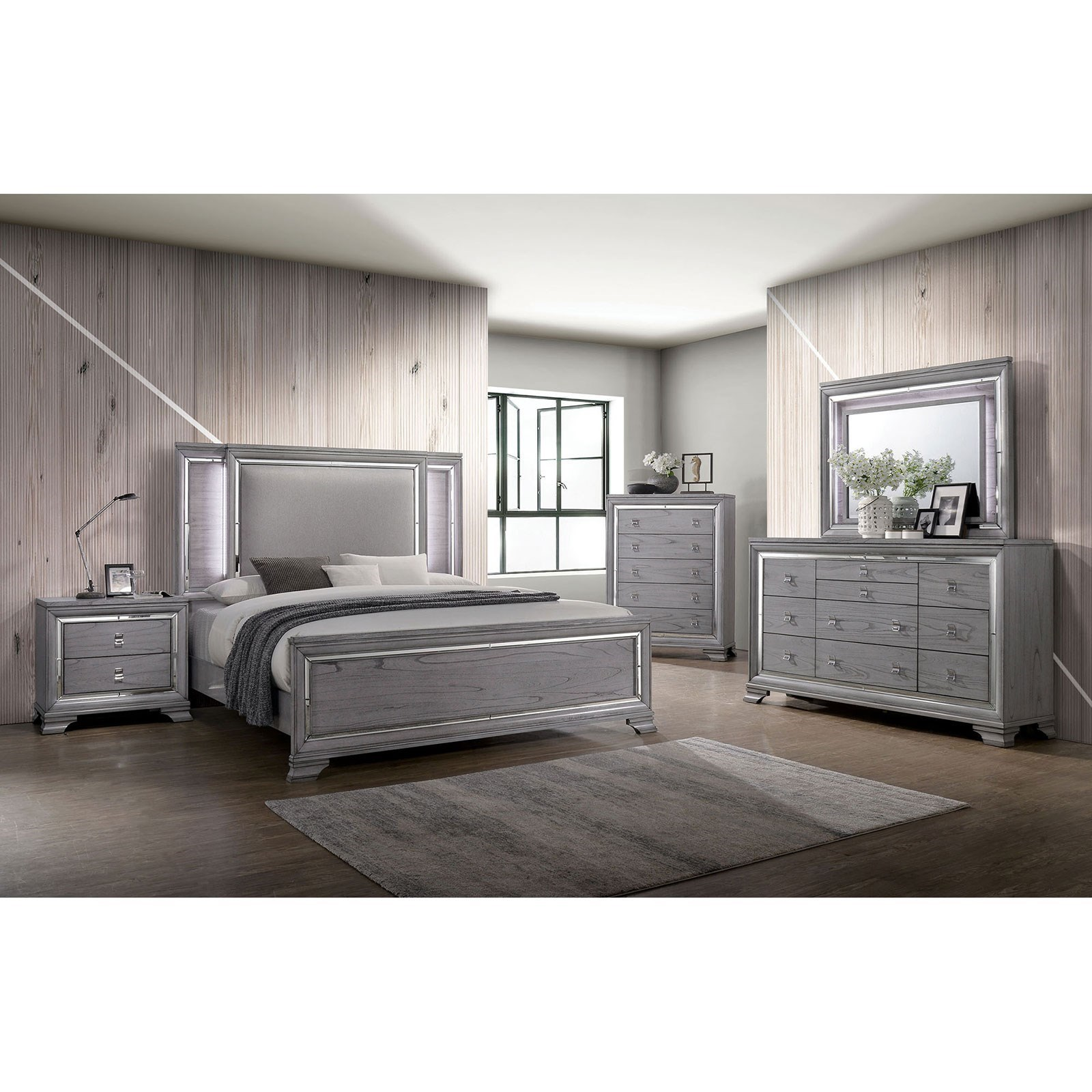 Alanis Queen Bedroom Group at Household Furniture