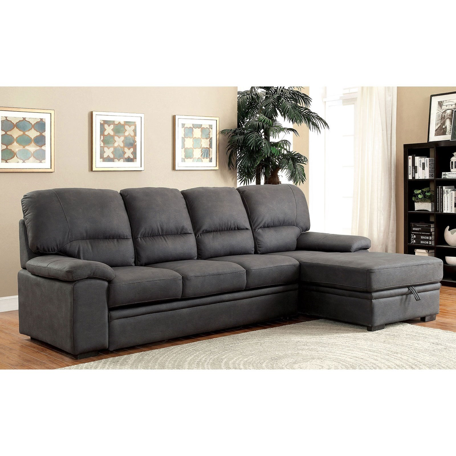 Alcester Sectional w/ Sleeper at Household Furniture