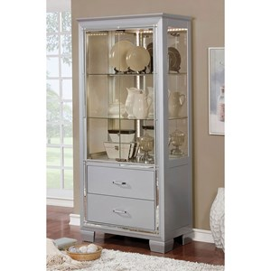 "36"" Curio Cabinet with Built-In Lighting"