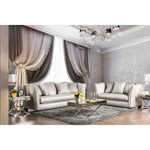 Sofa and Love Seat Set