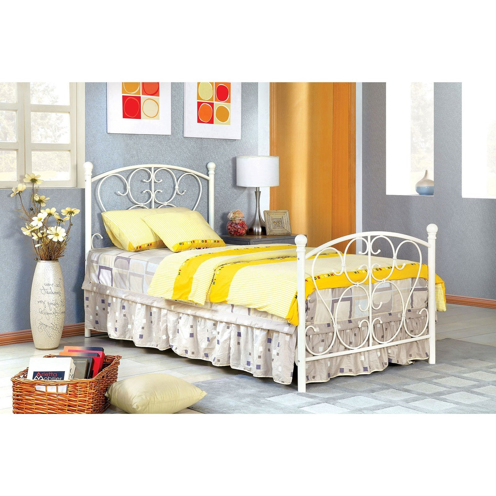 Alice Twin Bed at Household Furniture