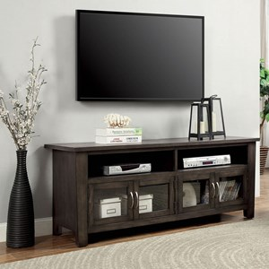 """60"""" TV Stand with 4 Doors"""