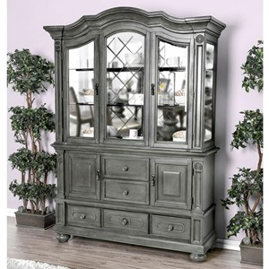 Traditional Hutch & Buffet