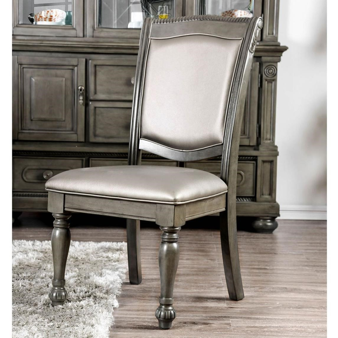 Alpena Side Chair by Furniture of America at Nassau Furniture and Mattress