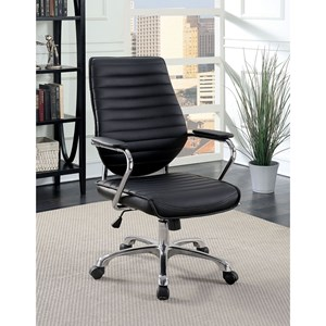 Contemporary Office Chair with Casters