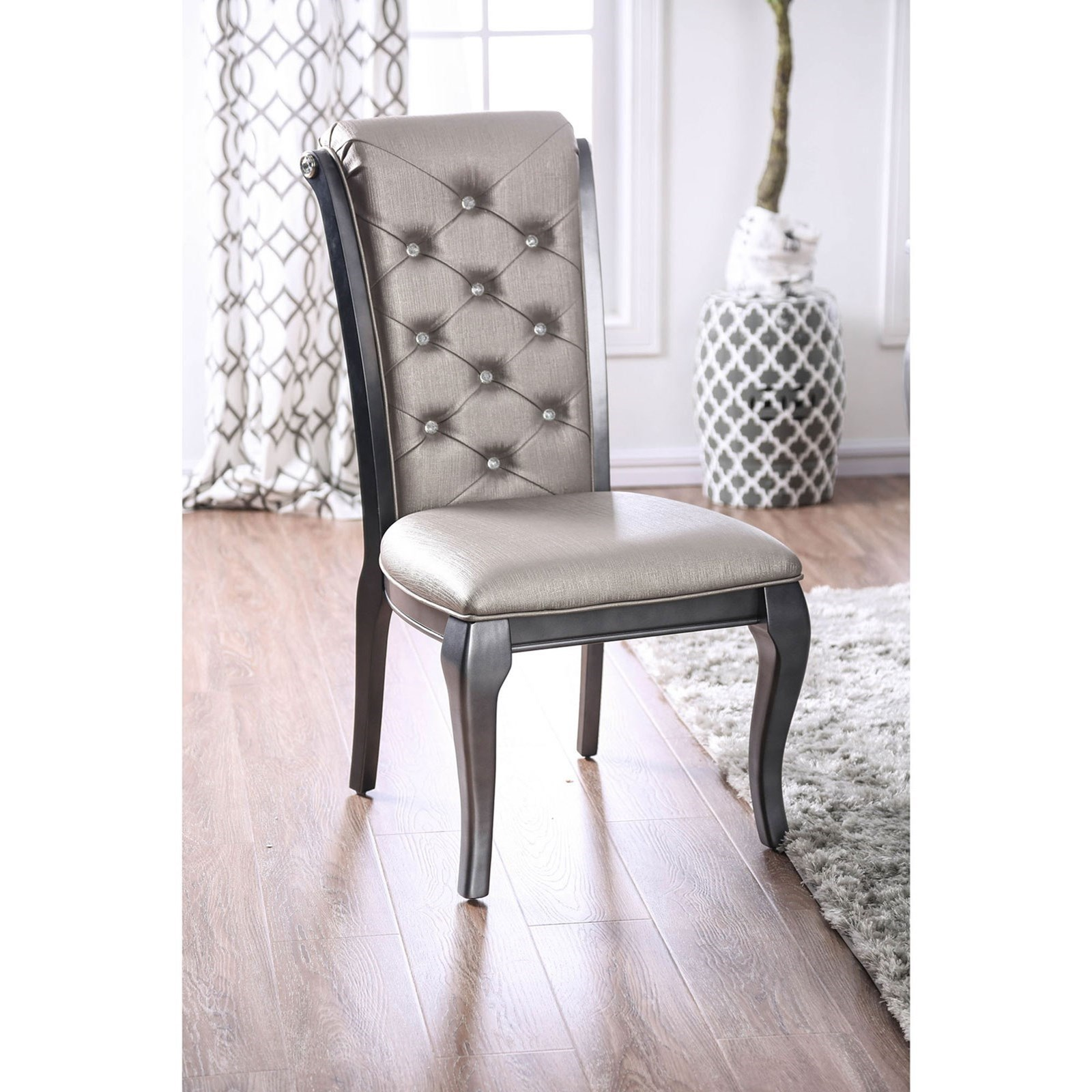 Amina Side Chair 2-Pack at Household Furniture