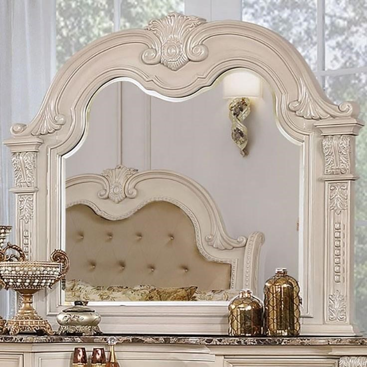 Ammanford Mirror  by Furniture of America at Nassau Furniture and Mattress