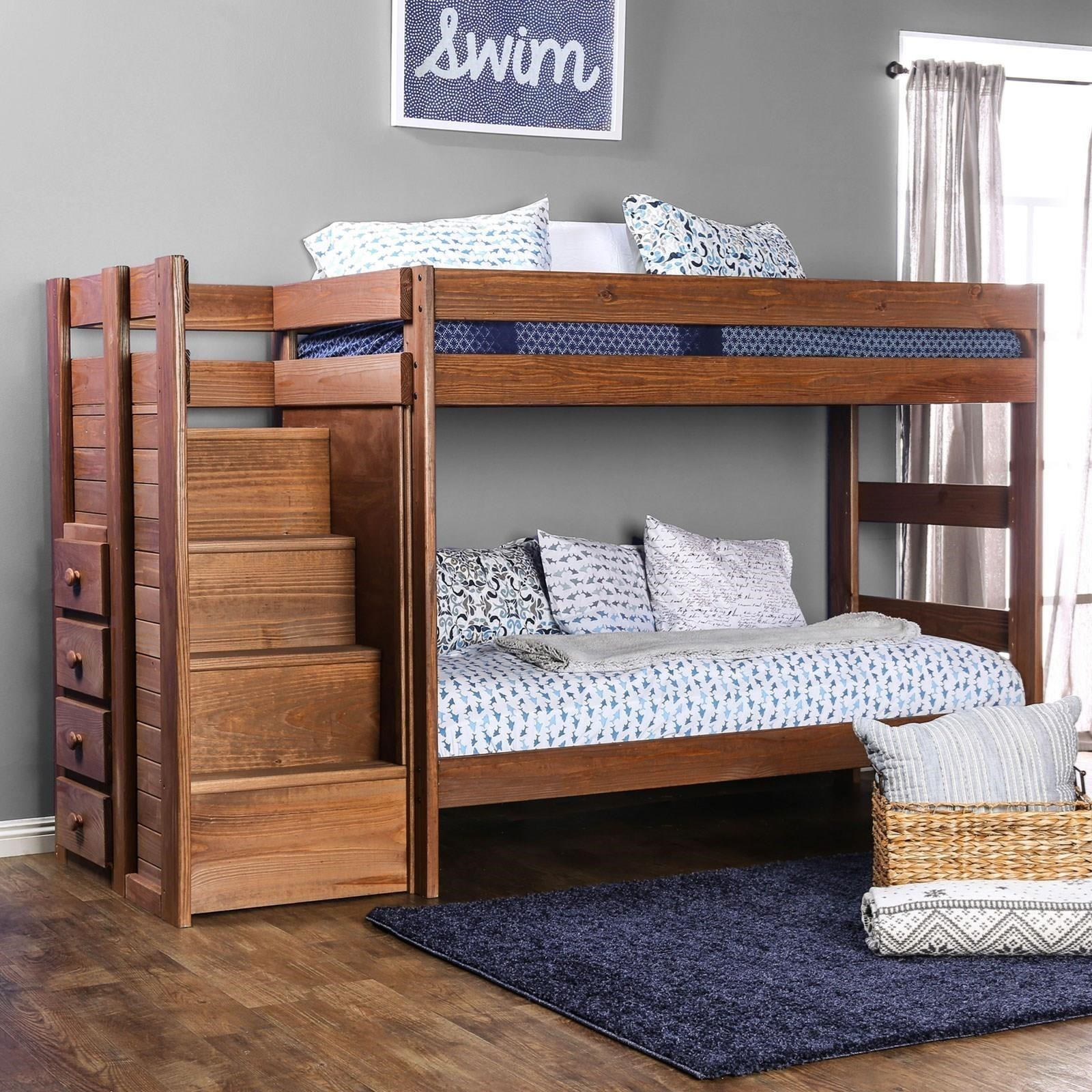 Ampelios Twin/Twin Bunk Bed at Household Furniture