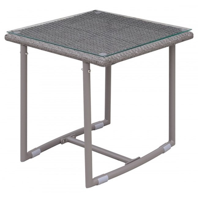 Amya Outdoor End Table at Household Furniture
