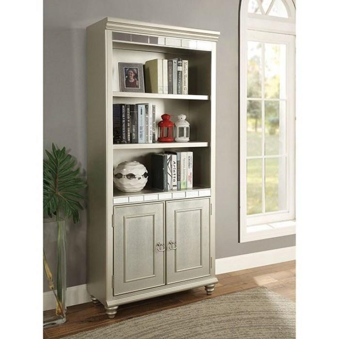 Anne Bookshelf by Furniture of America at Nassau Furniture and Mattress
