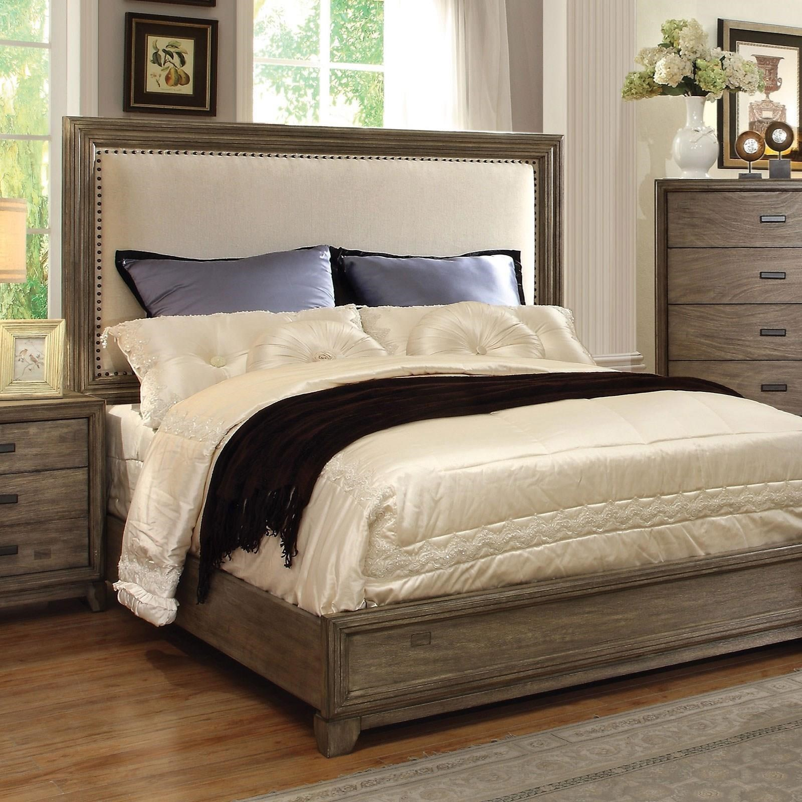 Antler Queen Bed by Furniture of America - FOA at Del Sol Furniture