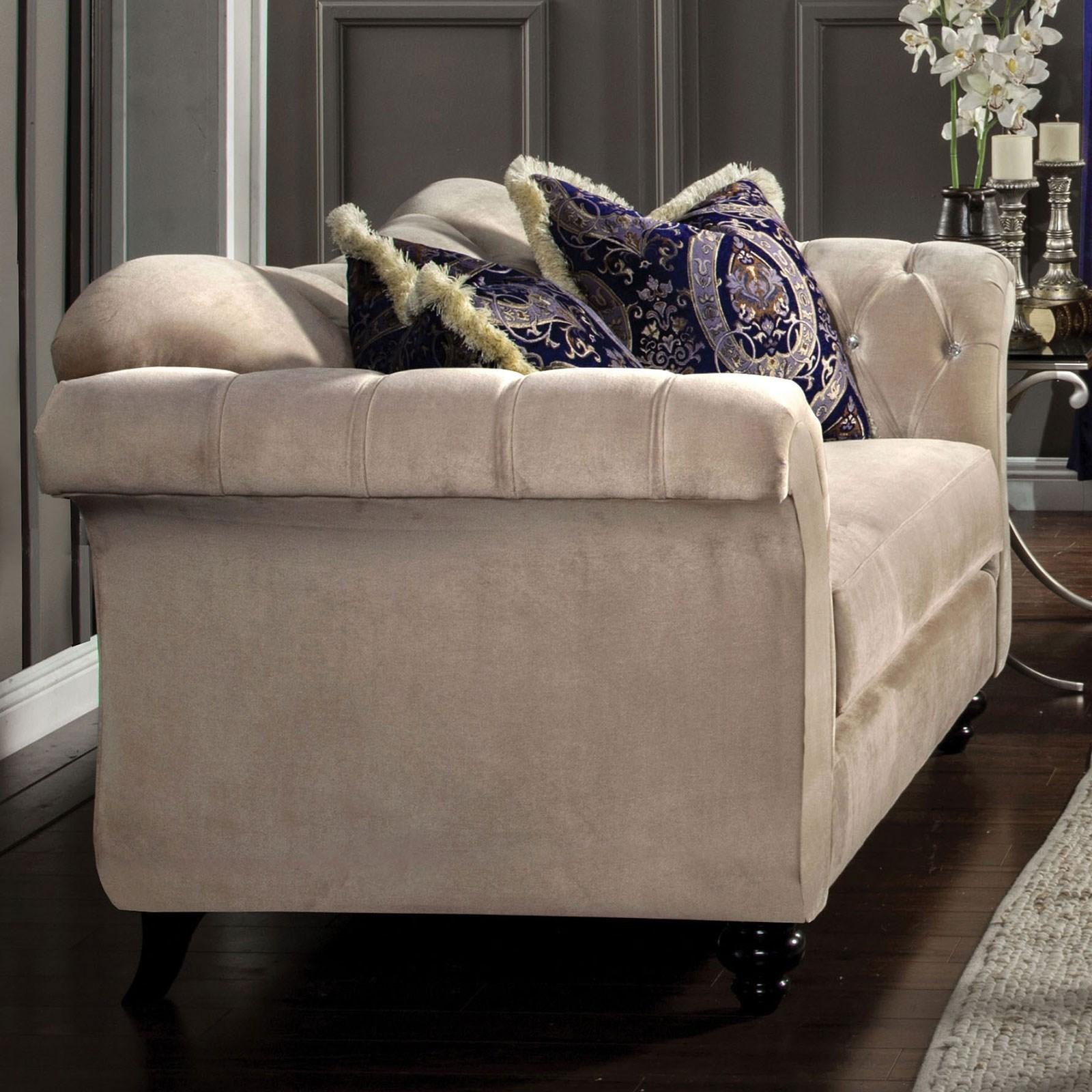 Antoinette Love Seat at Household Furniture