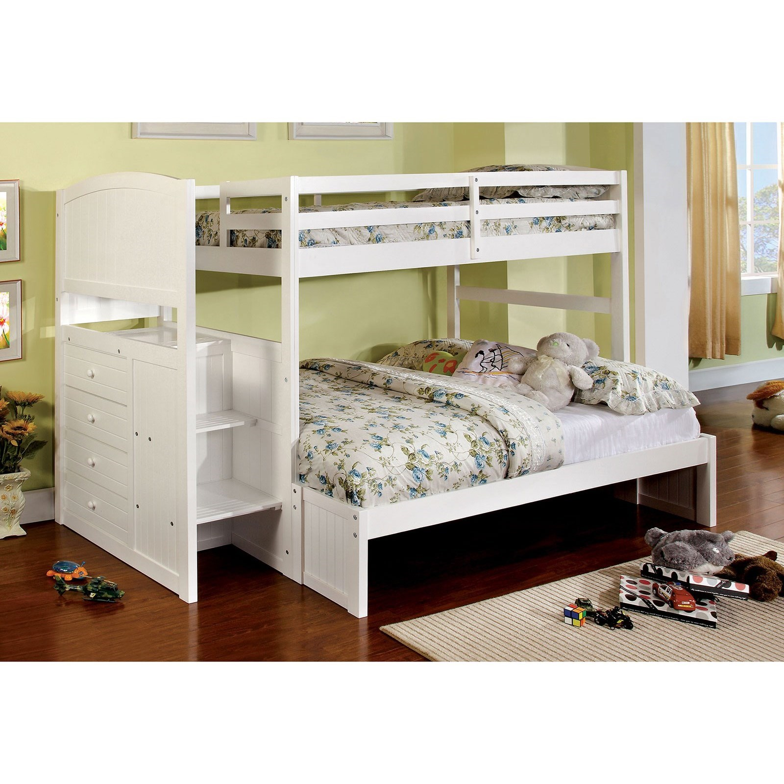 Appenzell Twin/Full Bunk Bed at Household Furniture
