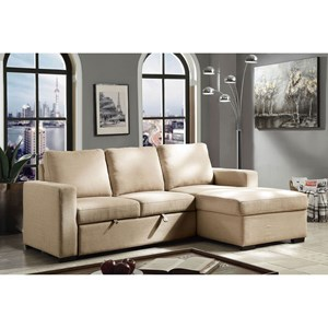 Sectional with Chaise and Hidden Sleeper