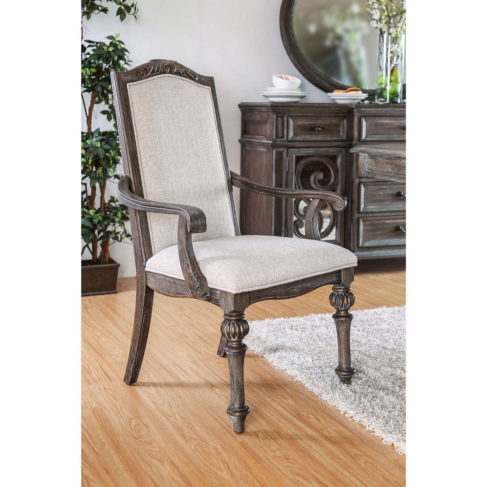 Arcadia Set of 2 Arm Chairs at Household Furniture