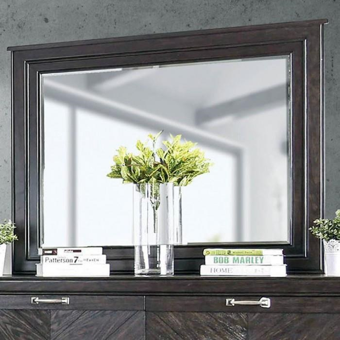 ARGYROS Dresser Mirror by Furniture of America at Dream Home Interiors