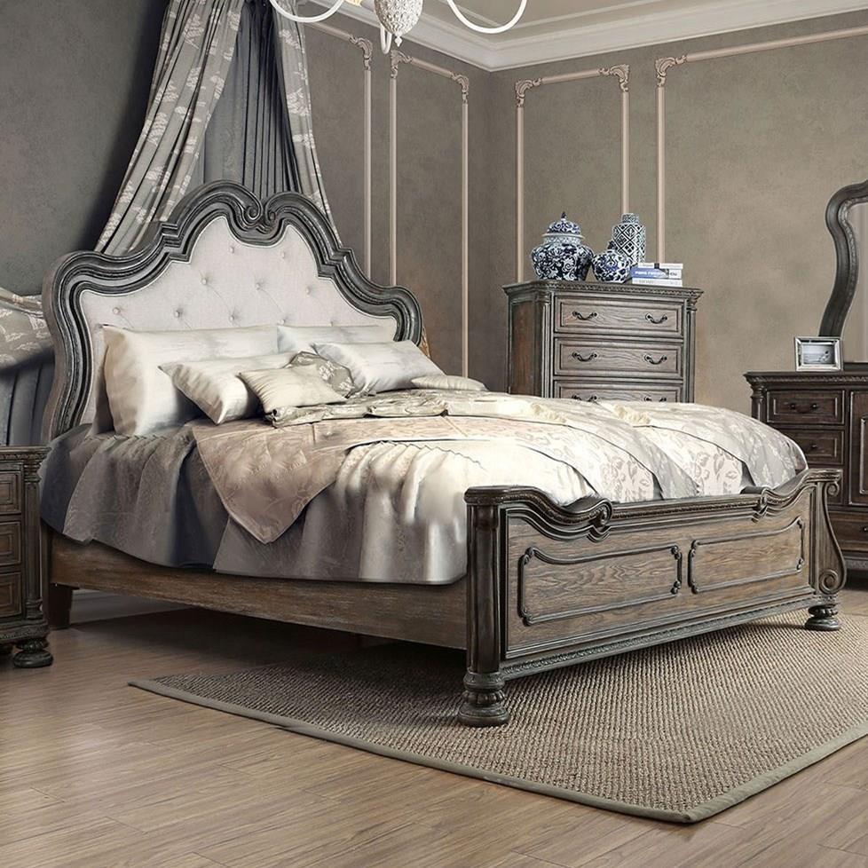 Ariadne California King Bed at Household Furniture