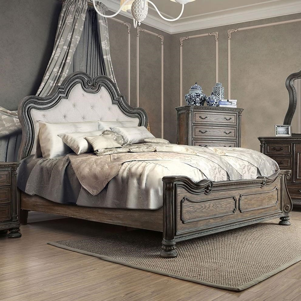 Ariadne Queen Bed at Household Furniture