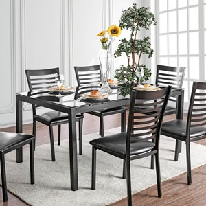 """Contemporary 60"""" Dining Table"""