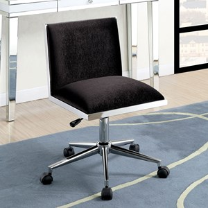 Contemporary Office Chair with Pneumatic Height Adjustable Seat