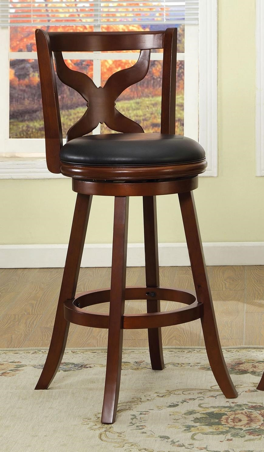 "Baltic 29"" Swivel Bar Stool by Furniture of America - FOA at Del Sol Furniture"