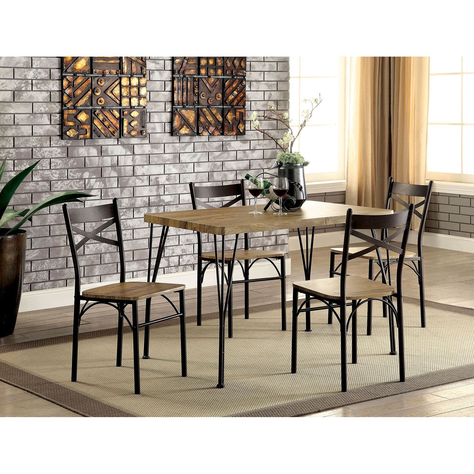 Banbury 5 Pc. Dining Table Set at Household Furniture
