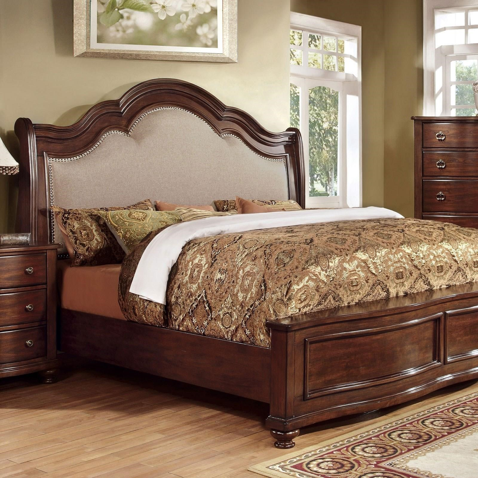 Bellavista California King Bed at Household Furniture