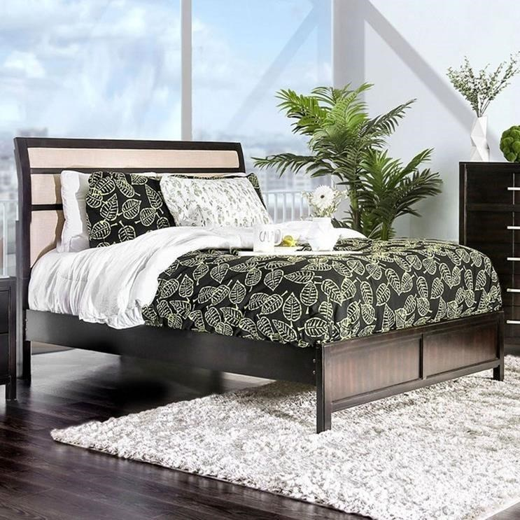 Berenice Cal.King Bed at Household Furniture